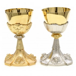 Calice de la communion anges