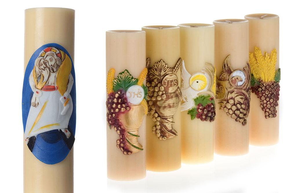 Les bougies d'autel
