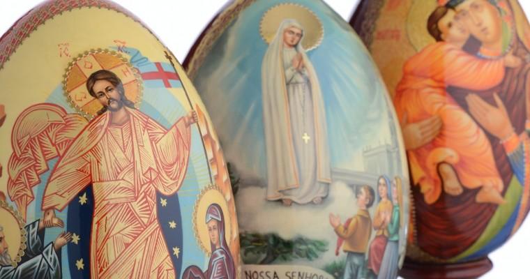 Les œufs russes peints : symbole de la Résurrection du Christ