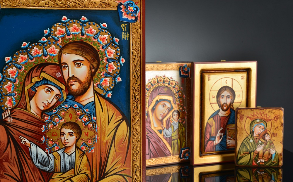La grande tradition des icônes sacrées roumaines