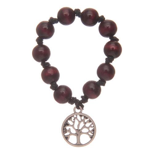 bracelet dix chapelet arbre de vie