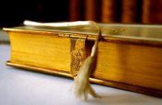 Marque-page pour Bible : relisez le verset qui vous donne la force