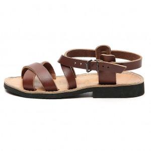 Sandales franciscaines mod. Sinaia cuir Moines de Bethléem