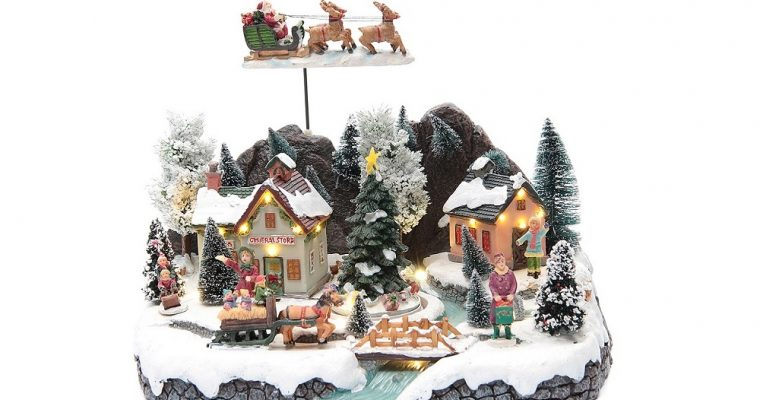 Les villages de Noël miniatures de Holyart