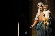 5 statues religieuses en plâtre pour votre église