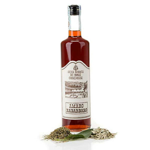 liqueur rhubarbe de camaldoli