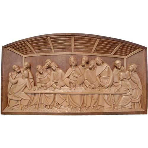 bas-relief cene bois valgardena