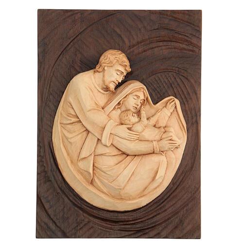 bas-relief sainte famille