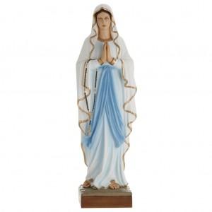 Statue Notre Dame de Lourdes fibre de verre 100 cm