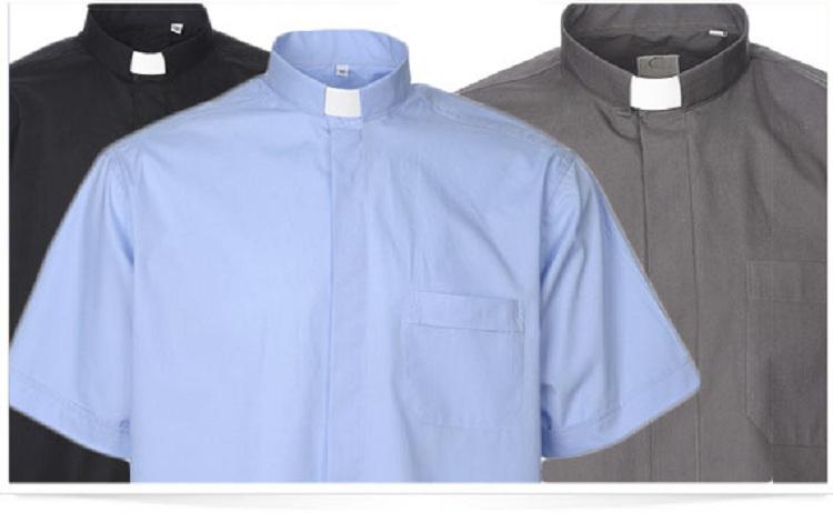 Les chemises clergyman pour clergé